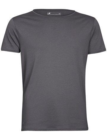 Rento, yksivärinen ja leveä kaula-aukkoinen t-paita. Miellyttävää 100% puuvillaa. 4 eri värivaihtoehtoa. Vaaleanharmaa