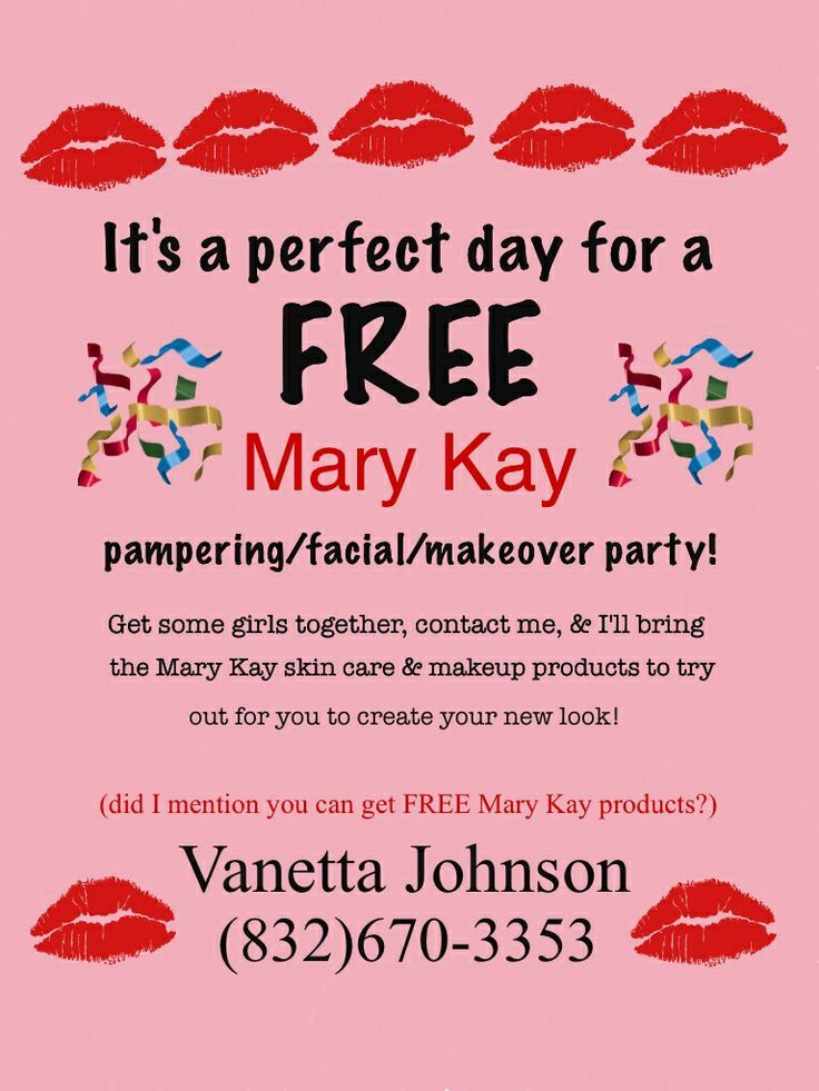 Mary Kay Party I M Gonna Have To Do One Of These Flyers Cards Mary Mary Kay Party Mary Kay Marketing Mary Kay Flyers