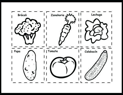 paginas para colorear alimentos para para y on para dibujos para ...