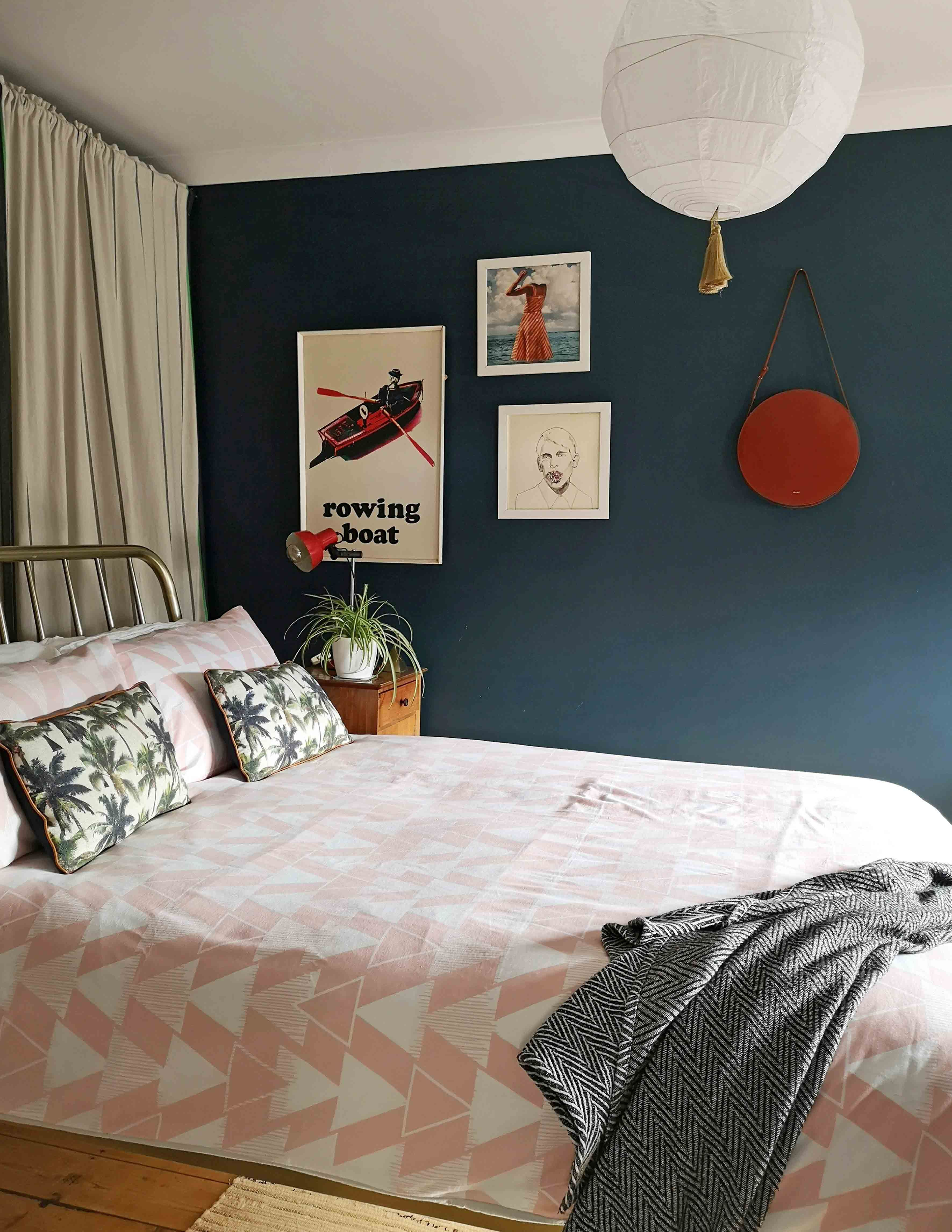 Thrifty Spring Cottage Style Bedroom - Pine and Prospect Home  Thrifty Bedroom Ideas