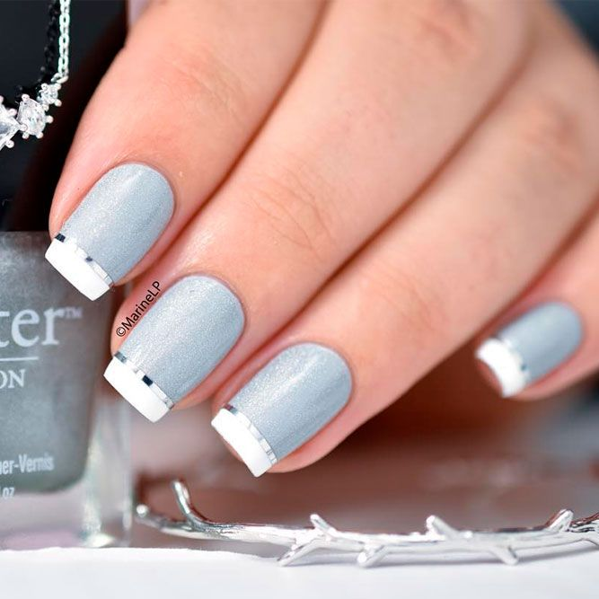 Beautiful White Tip Nails Designs Specially For You Pinterest