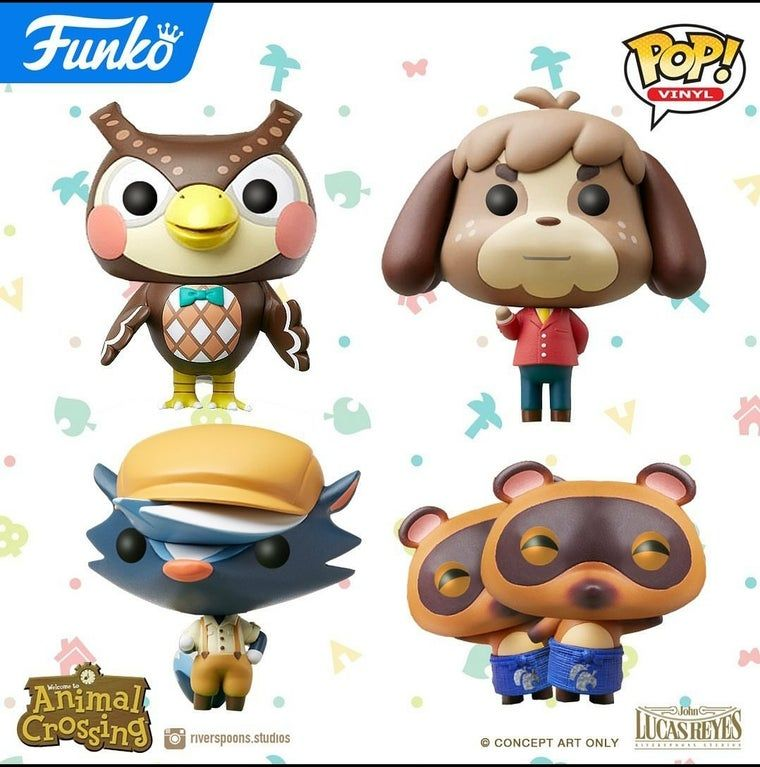 Custom Animal Crossing Funko Pops Animal Crossing Funko Funko Pops