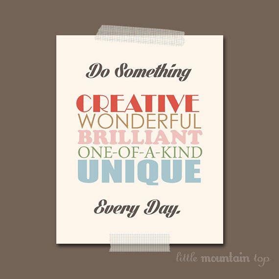 Inspirational+Quote++Colorful+Poster++Home+por+LittleMountainTop,+$15,00