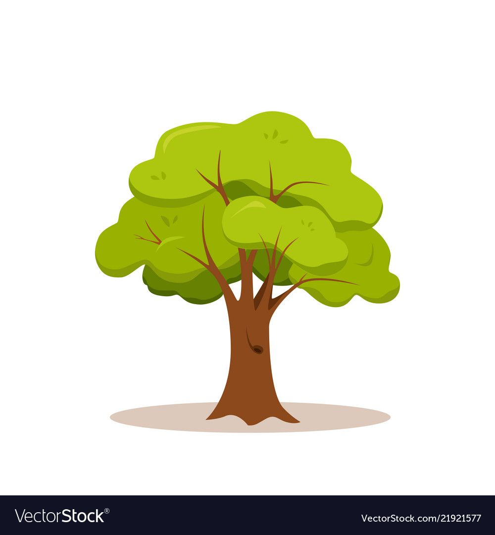 Green Tree Colorful Cartoon Style Design Icon Flat Nature Plant Vector Illustration Download A Free Preview Or High Q Cartoon Styles Icon Design Green Trees Download high quality cartoon tree clip art from our collection of 41,940,205 clip art graphics. green tree colorful cartoon style