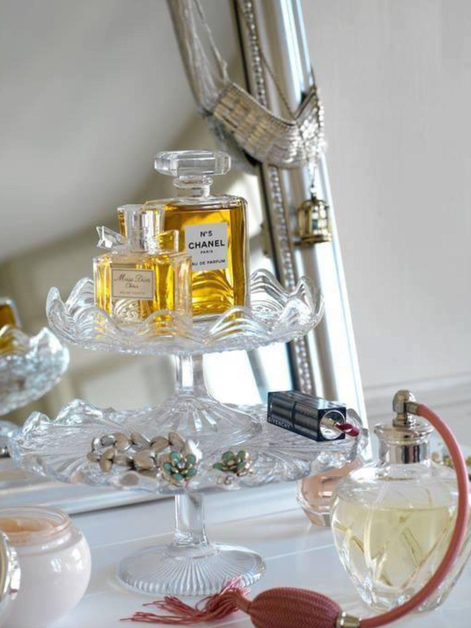 Perfume Storage Ideas