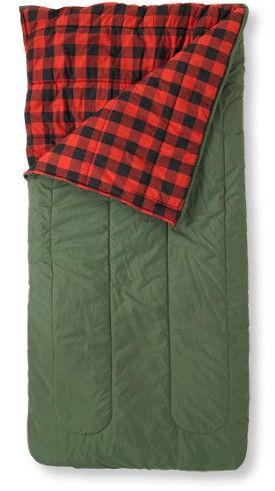 L Bean Flannel Sleeping Bag