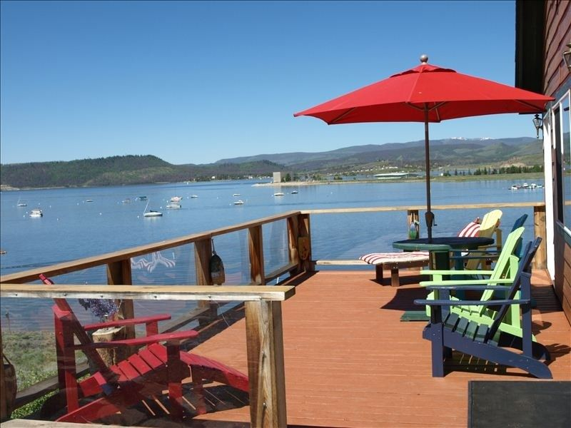 Vrbo Com 301318 Lakefront Lake Granby Spectacular Views Very Private Grand Lake Cabin Vacation Vacation Rental