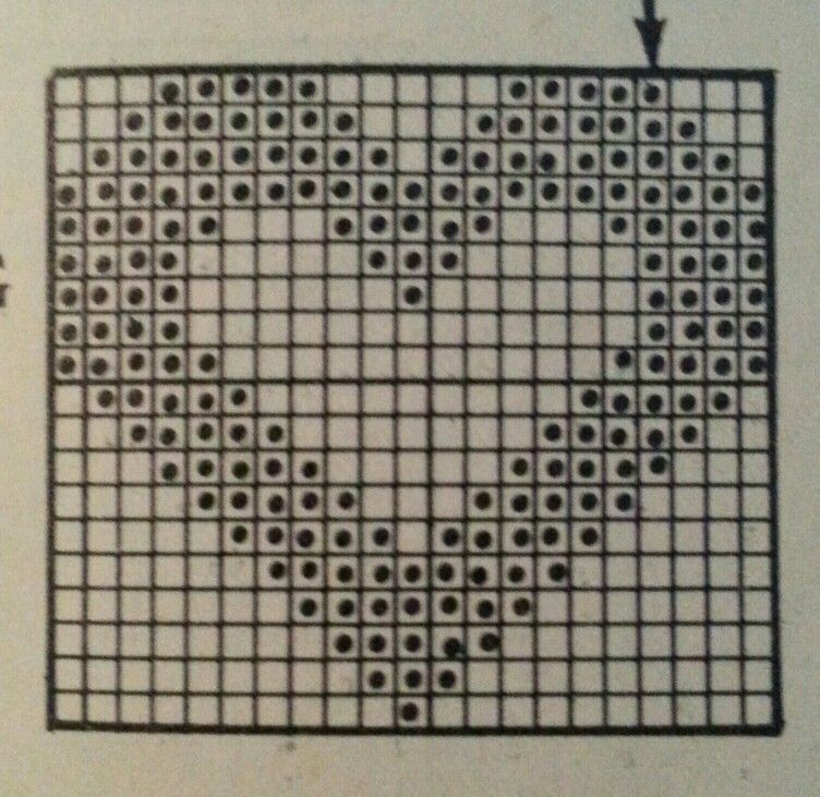Instagram picture only filet crochet diagram filet crochet filet crochet diagram ccuart Images