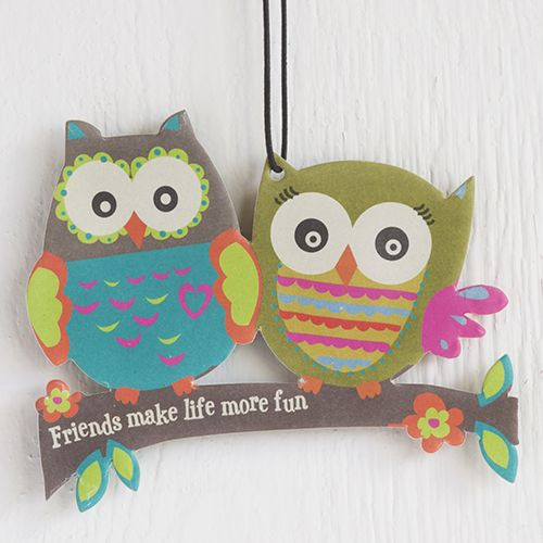 Natural Life Owl Friends Air Freshener at The Paper Store