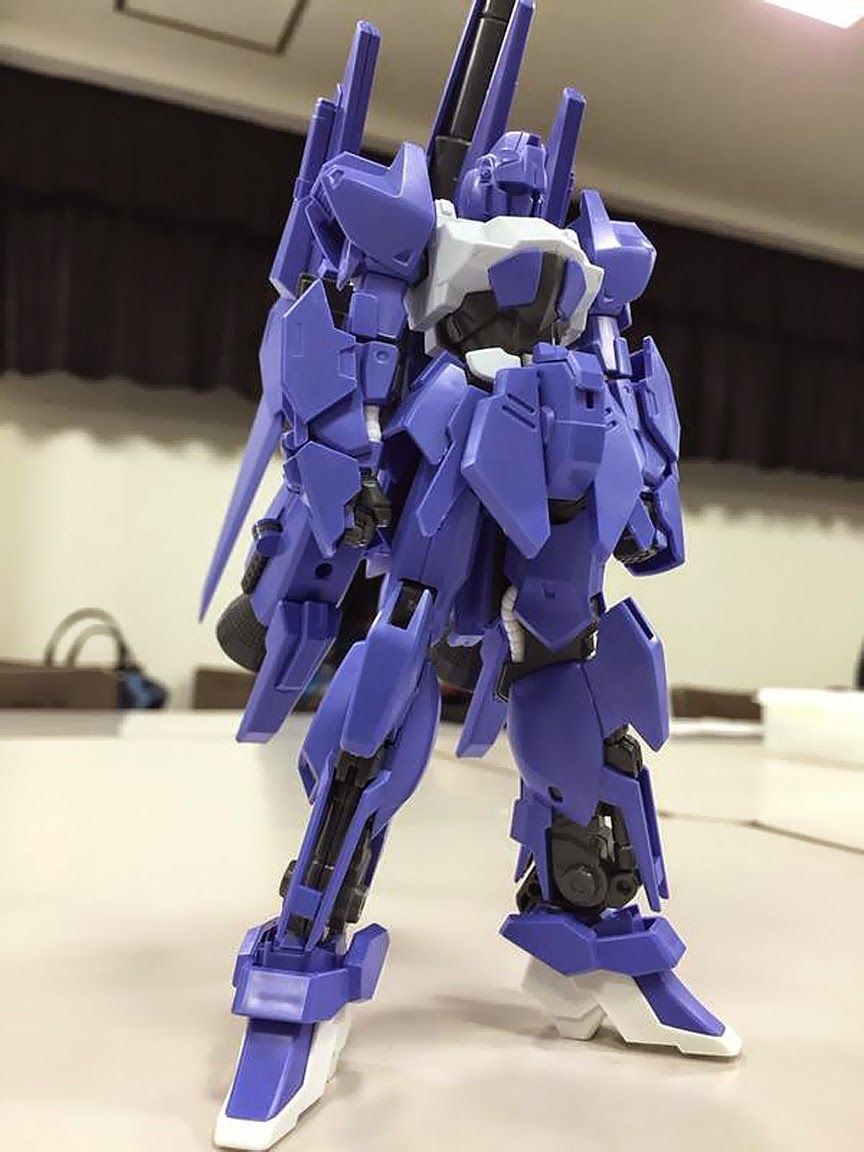 HGBF 1/144 MEGA-SHIKI ASSEMBLED Images + Mega Launcher: UPDATE Images, Scans info release http://www.gunjap.net/site/?p=217149
