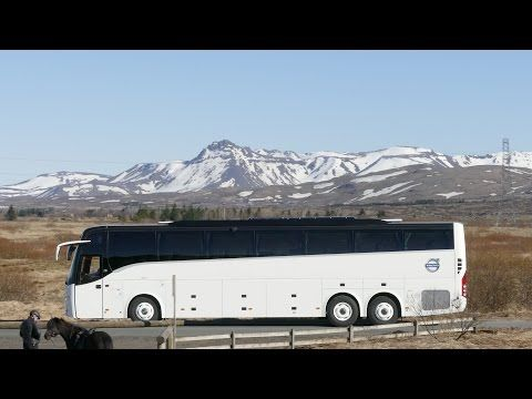 Volvo 9900 VIP Coach in Iceland - YouTube | Bus Collection