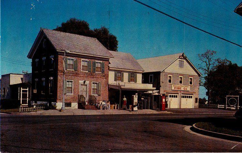 Hewitt's Gas Station, Roadstown, NJ, ca. 1950