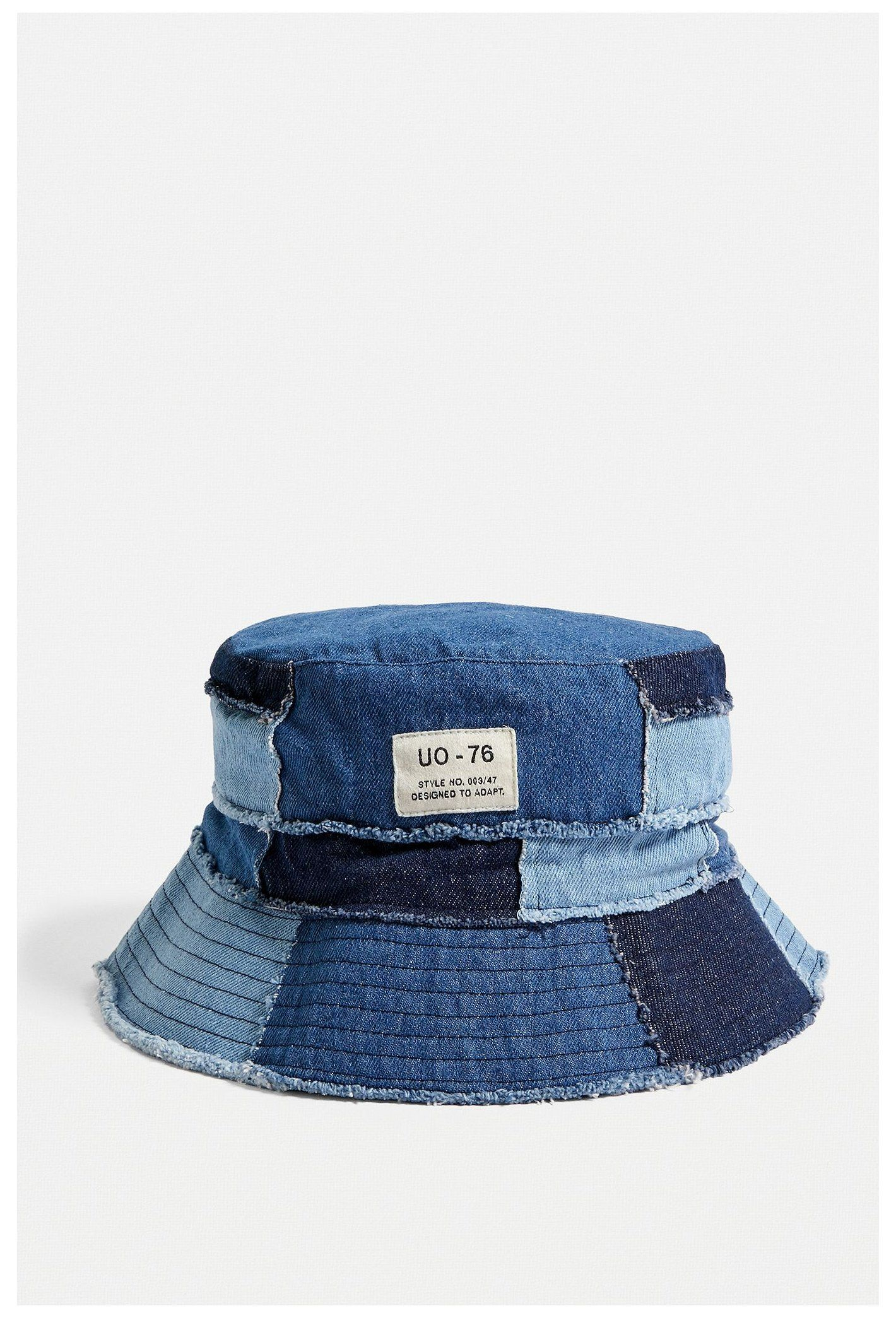 Uo Denim Patchwork Bucket Hat Denim Bucket Hat Urban Outfitters Denimbuckethaturbanoutfitters Pat Bucket Hat Fashion Diy Sewing Clothes Refashion Clothes