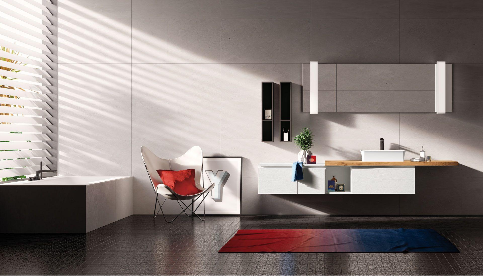 Bathroom Design Home Bagno Arredobagno Puntotre Groove  # Giellesse Muebles
