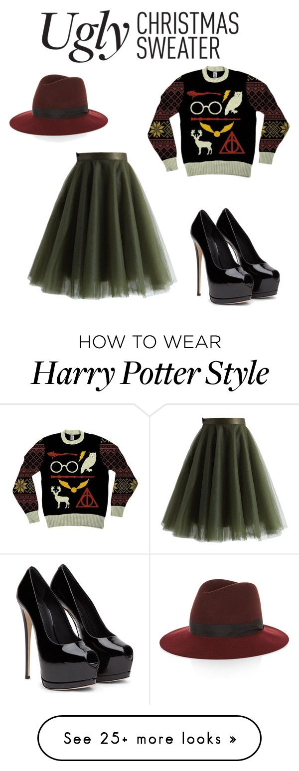 """""""Not so ugly christmas sweater"""" by writerheart4 on Polyvore featuring Chicwish and rag & bone"""