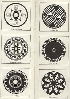 Resultado de imagen de arte precolombino dibujos