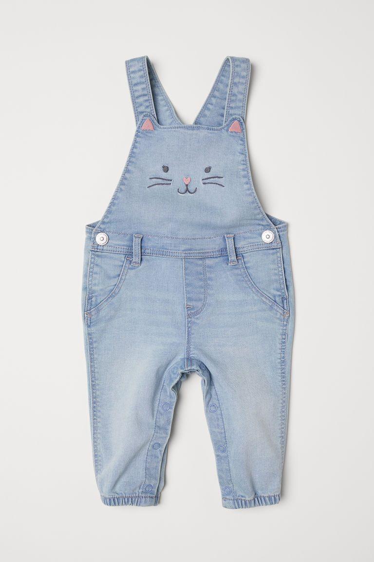grande vendita vendita outlet presentazione Salopette in denim | Baby overalls, Denim dungarees, Bib overalls