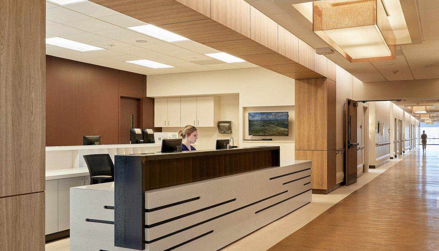 Forest Park Medical Center Page Healthcare design