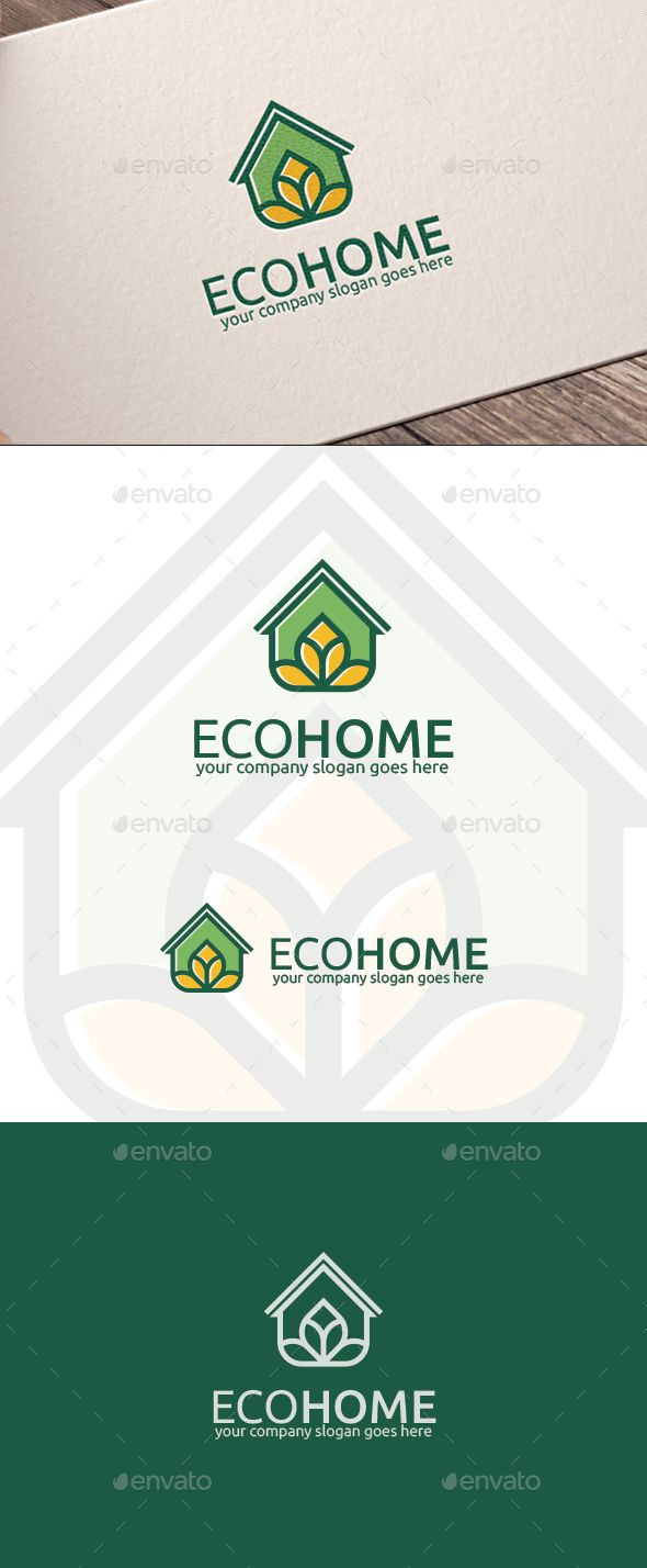 Eco Home Logo - Nature Logo Templates Download here : http ...