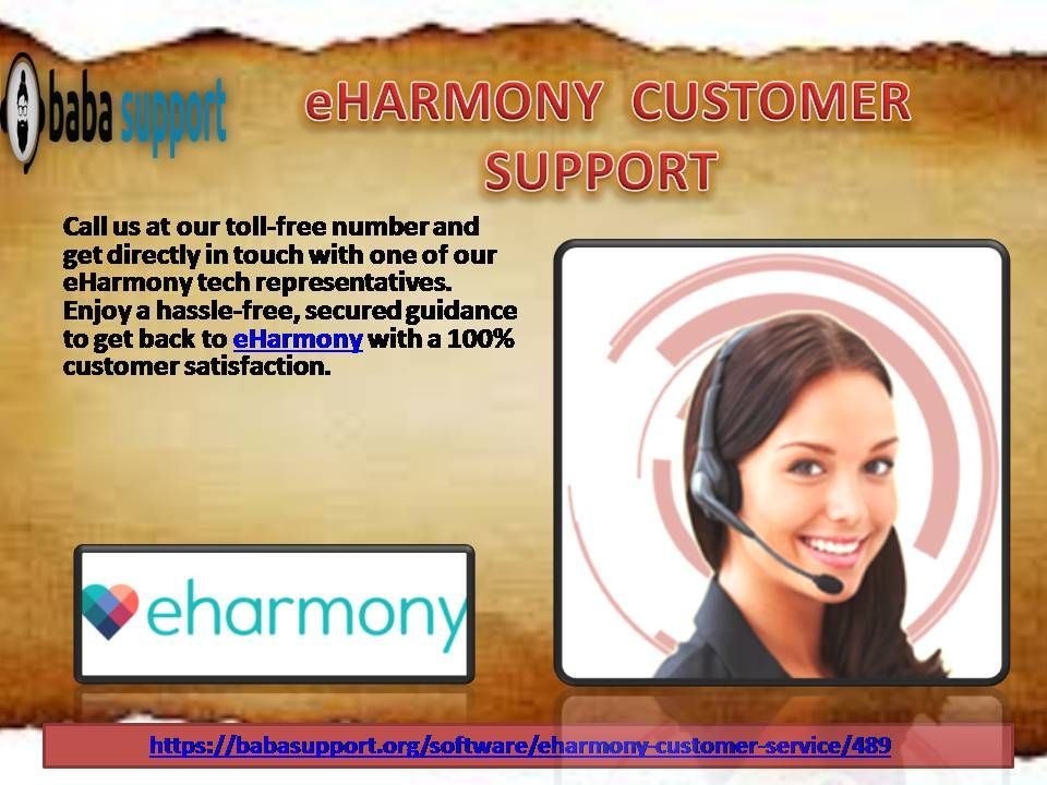 Telephone number for eharmony customer service