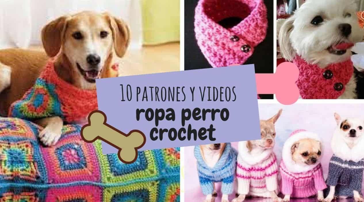 Contemporáneo Los Patrones De Crochet Libre Perro Composición ...