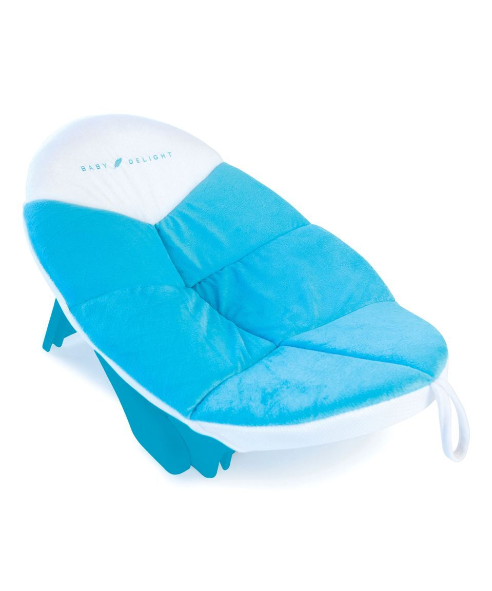 Take a look at this Blue Cushy Nest Cloud Bath Insert today ...