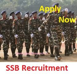 Ssb Recruitment 2018 19 Latest Vacancy Online Application Forms Recruitment How To Apply Job