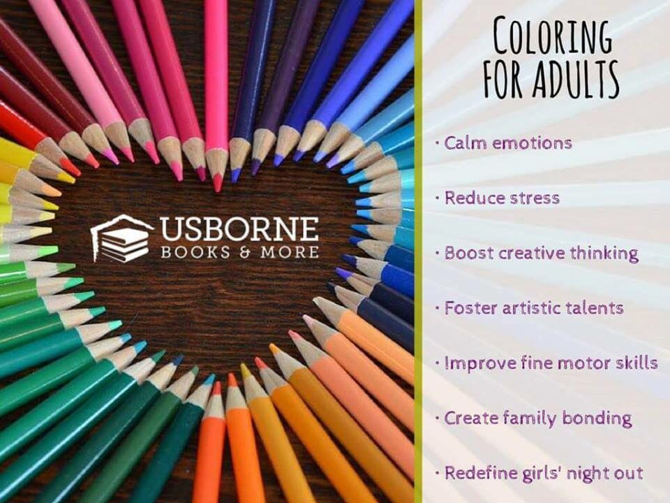 Coloring For Adults Party