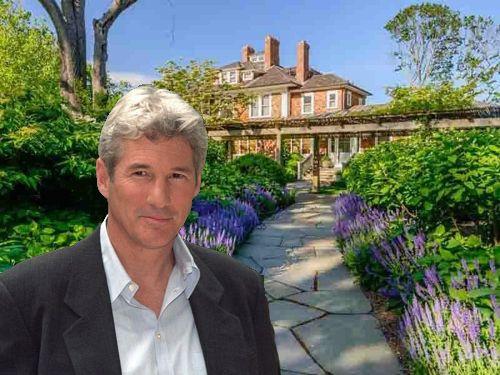 Visite De La Maison De Richard Gere Maisons De People Maison De Star Les Hamptons