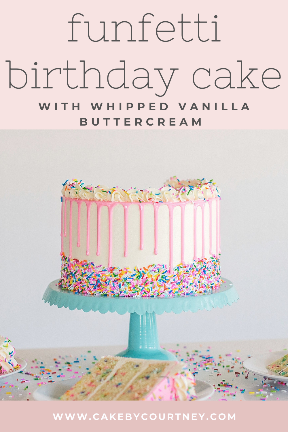 Funfetti Birthday Cake | Cake by Courtney
