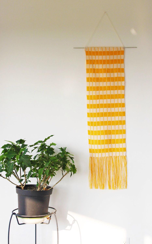Orange Blossom Wall Hanging | Wall deco ideas | Pinterest | Orange ...