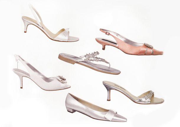 Desça do salto: use um sapato baixo no dia do casamento  #sapatos