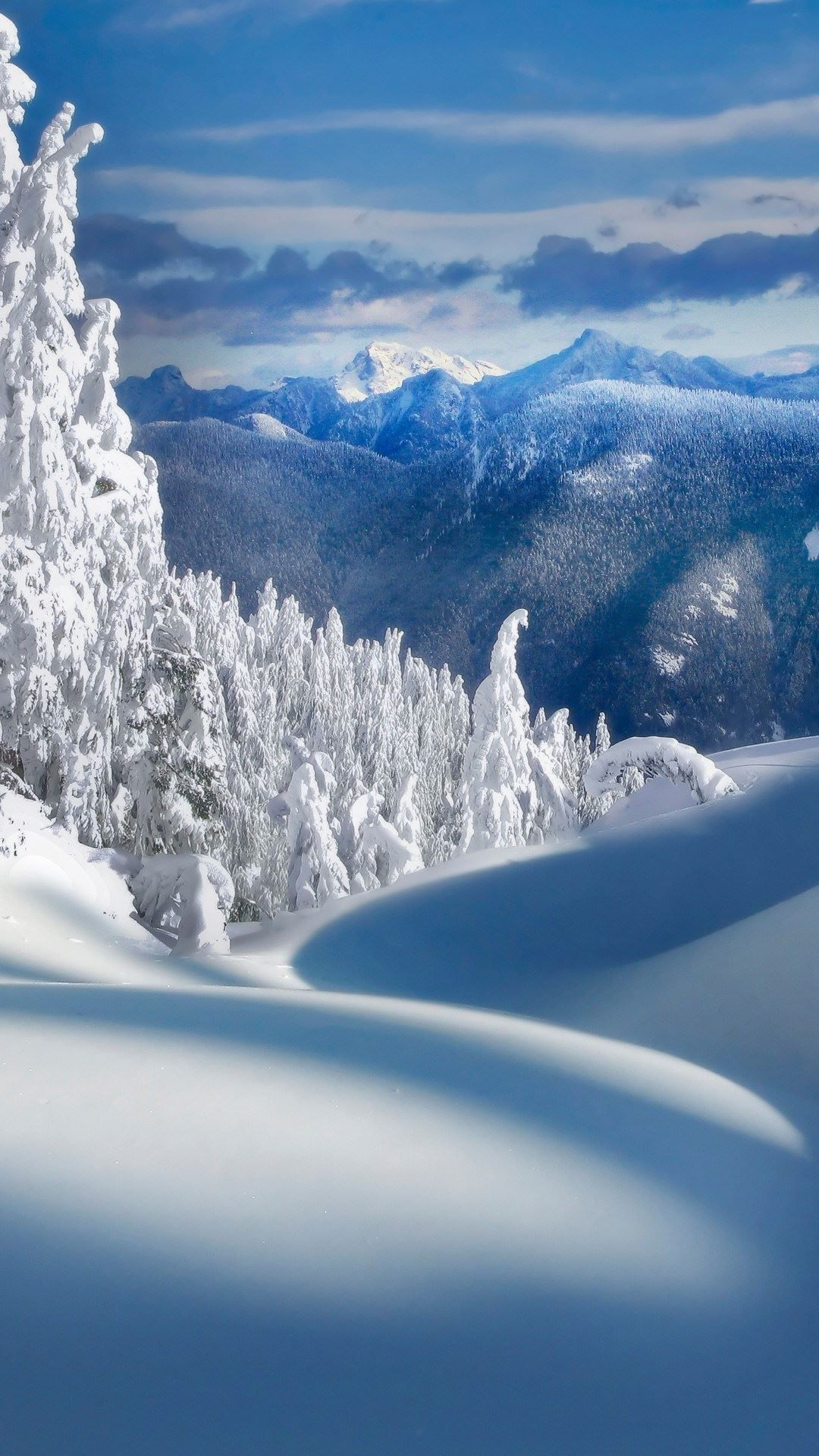 Fairy Tale Christmas Snow Landscape Android Wallpapers Winter Wallpaper Winter Landscape Winter Scenery