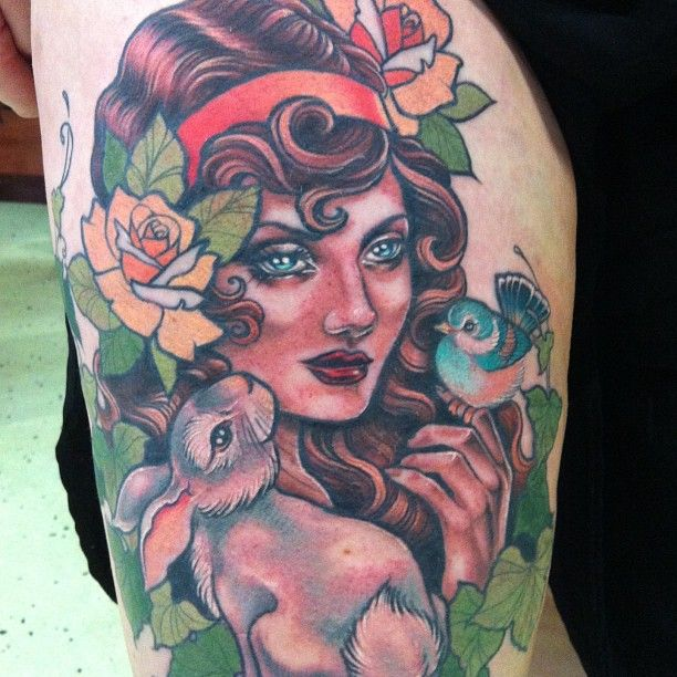 Melbourne Tattoo: Tattoo By Taniele Sadd From Korpus Tattoo In Brunswick