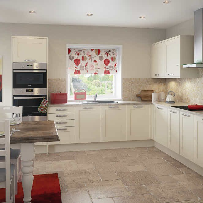 Eton Cream Fitted Kitchen By Magnet Creamkitchen Simply Magnet