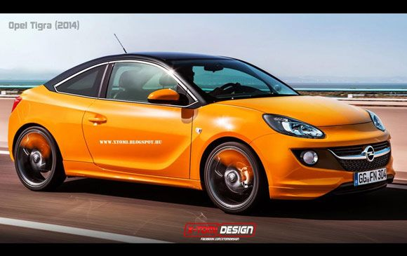 Ideja Opel Tigra Opel Adam City Car Car