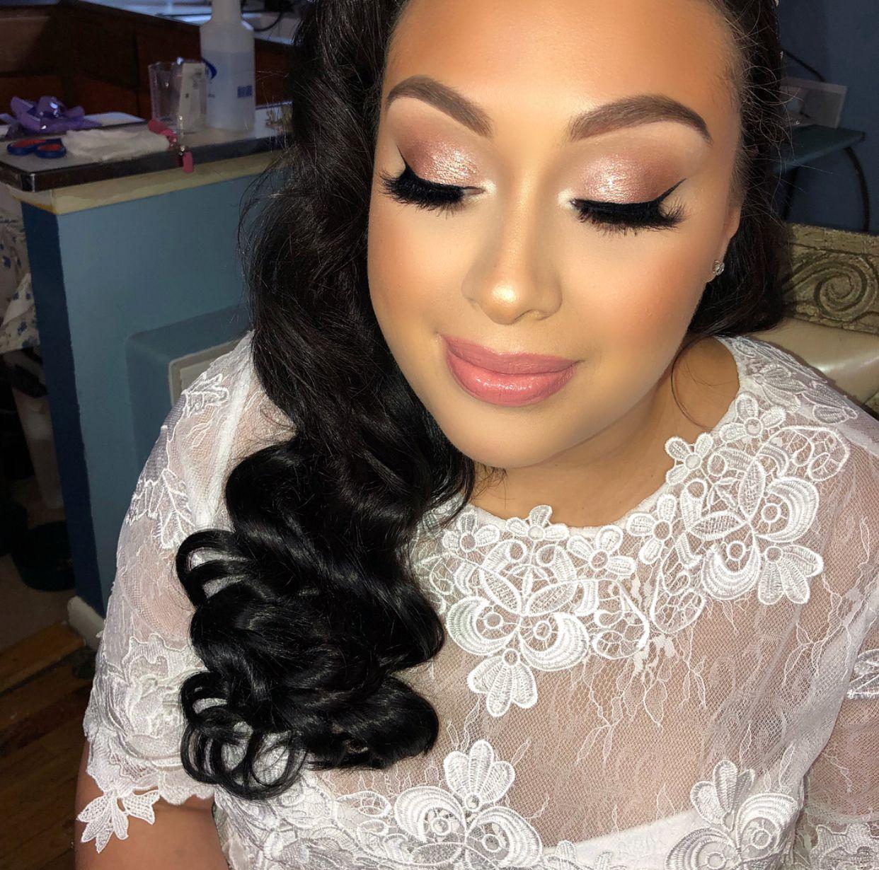 Soft glam bridal makeup Bridal makeup, Makeup, Bridal