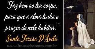 Resultado De Imagem Para Santa Tereza Davila Frases Católico