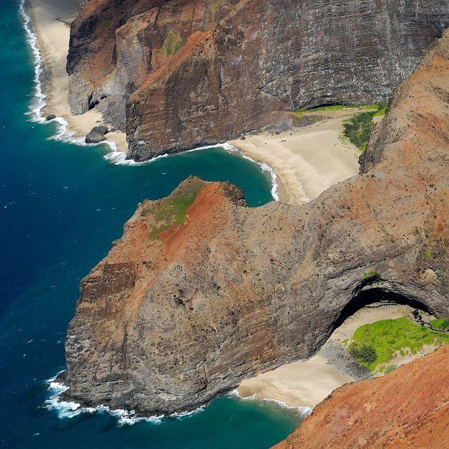 Kauai Hidden Beach Na Pali Coast Hawaii Usa