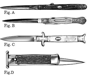 Antique & Vintage Switchblade Knives | Big Switchblades