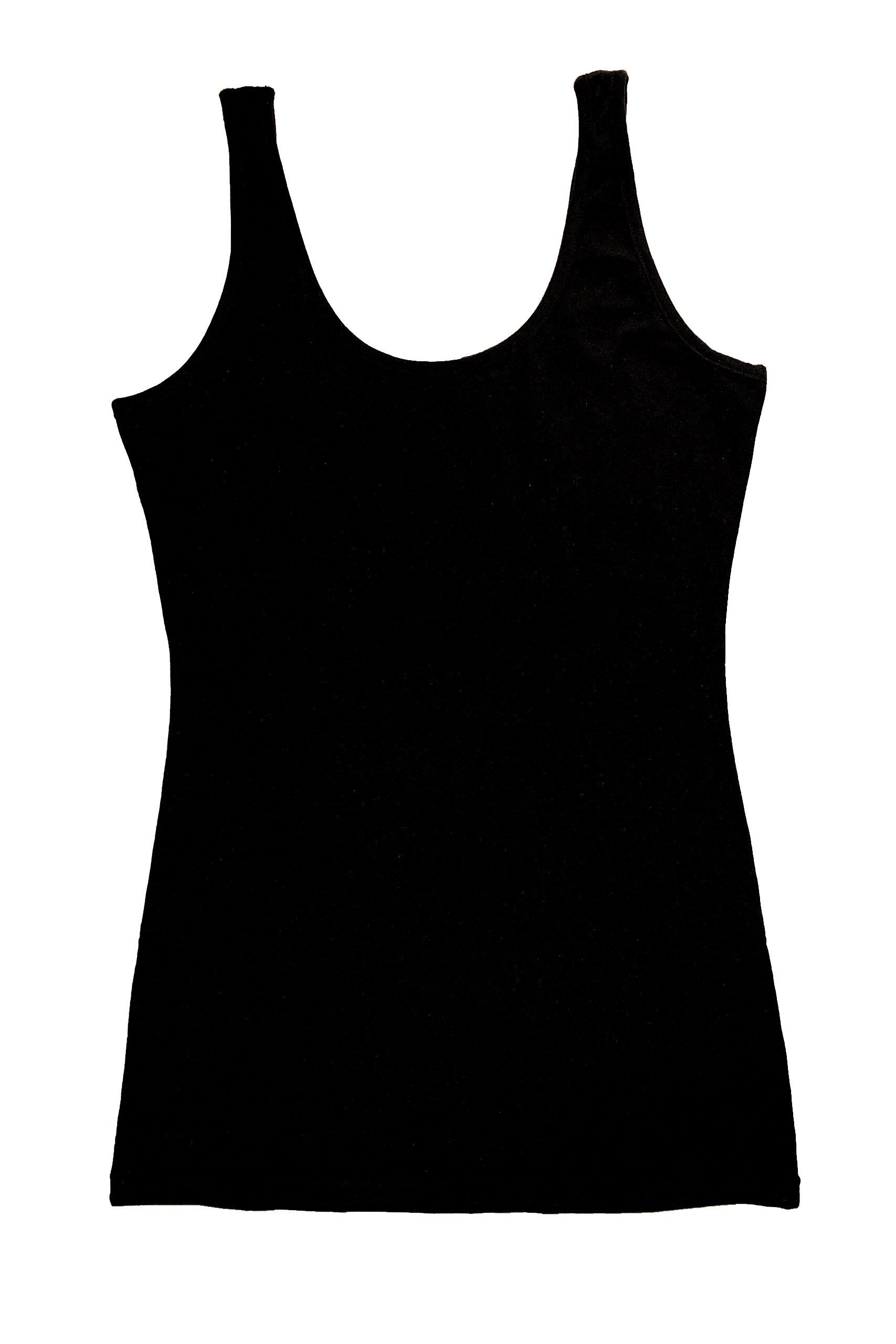 441376a00da TREELANCE Spiritual Yoga Tank Top Womens Yoga Tops Eco Friendly Cotton Yoga  Shirts. Organic Workout Yoga Tank Tops For Women. Plain Black XLarge      You can ...