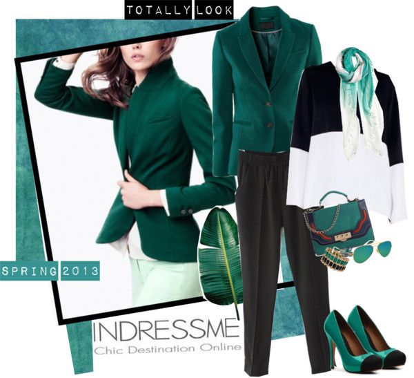 """""""Green Emerald - indressme"""" by elafashionable ❤ liked on Polyvore"""