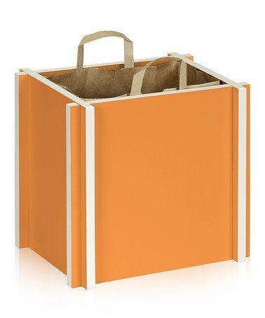 Beautiful Way Basics Eco Grocery Paper Bag Holder, Green   Modern   Storage Cabinets    Way Basics
