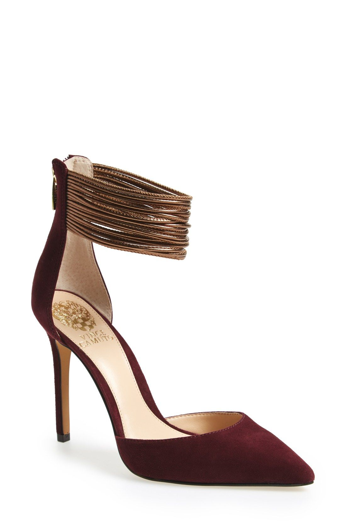 8af58951443f2a Sam Edelman  Eleanor  Snake Embossed Ankle Strap Sandal (Women) ( 32) ❤  liked on Polyvore featuring shoes