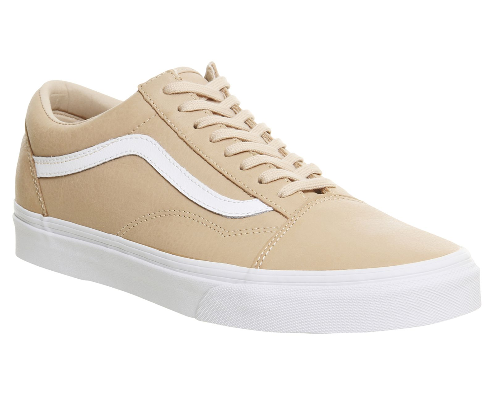 d59f5a25de2b5 Vans Old Skool Toasted Almond Leather | Shoes in 2019 | Vans old ...