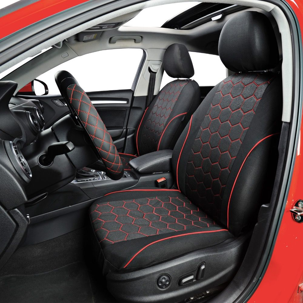 Soccer Ball Style Seat Covers Carace Volkswagen Touareg