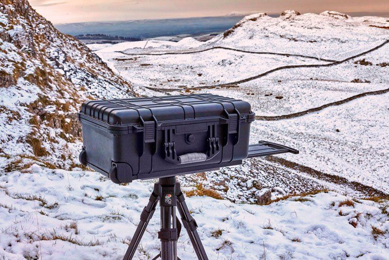Turn a Pelican Case Into a Tether Station with a 2