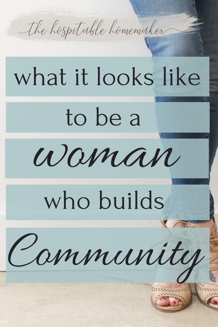 Women who put effort into building community rightly have a special beauty. This is what it looks like to be a build a tribe that matters.  #Tribes
