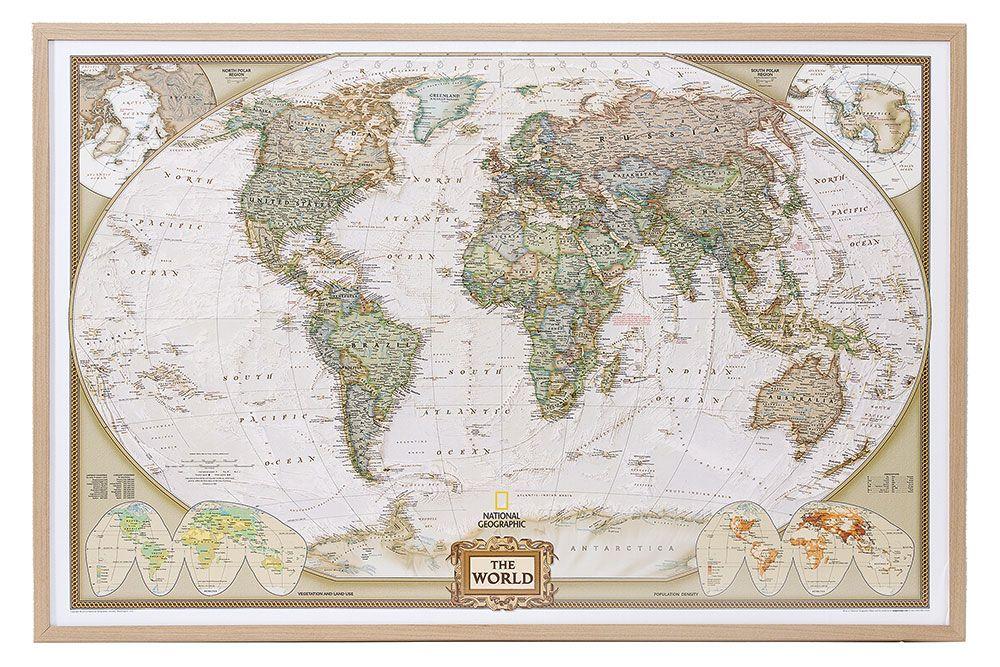 World map on cork pinboard english wood frame 90x60cm 199086 ebay world map on cork pinboard english wood frame 90x60cm 199086 ebay gumiabroncs Gallery