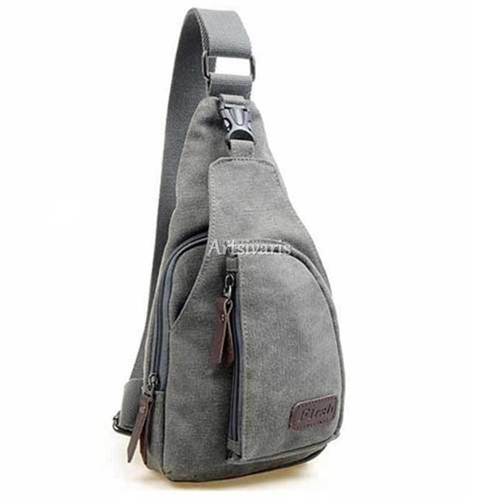 Sling bag on ebay - Stylish Men Vintage Satchel Canvas Cross Body Handbag Messenger Shoulder Bag Ebay
